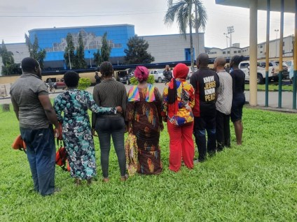 Police Parade Suspected Sea Pirate Arrested Over Kidnap Of Eight Boat Passengers In Rivers State