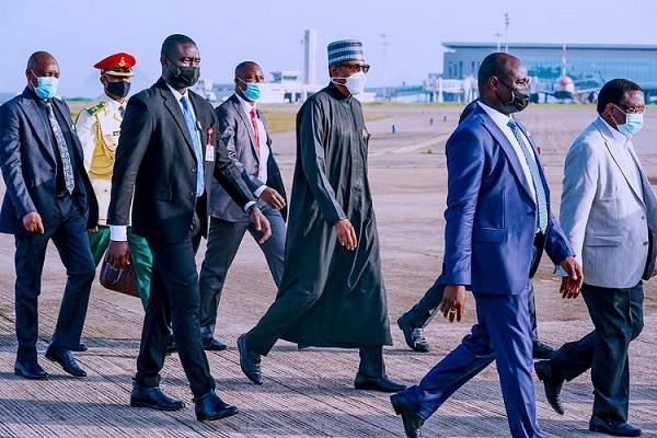 President Buhari Returns From 76th UNGA In New York