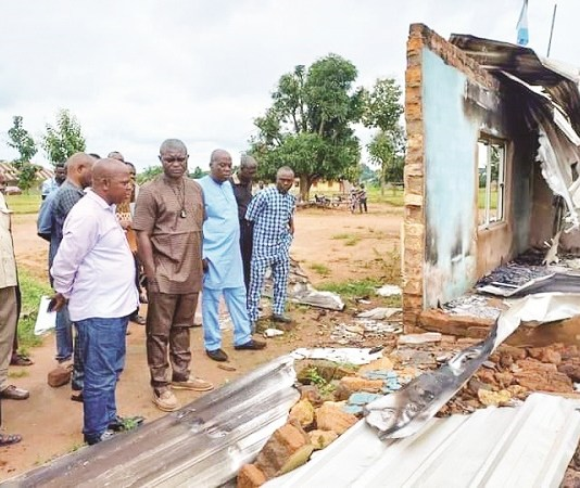 Principal Suspended Over Burning Of School, Mismanagement In Benue State