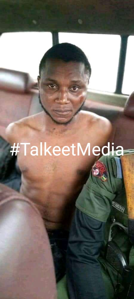 See More Photos As Yahoo Boy Is Caught Cutting Niger Delta University Student's Neck