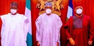 See Photos As Fani-Kayode Joins APC, Meets President Buhari