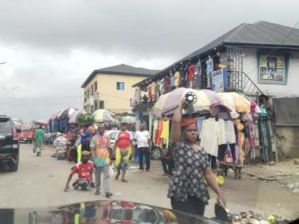 See Photos As Imo Residents Disobey IPOB's Sit At Home Order