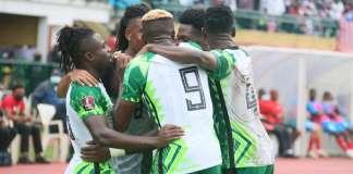 Cape Verde Vs Nigeria
