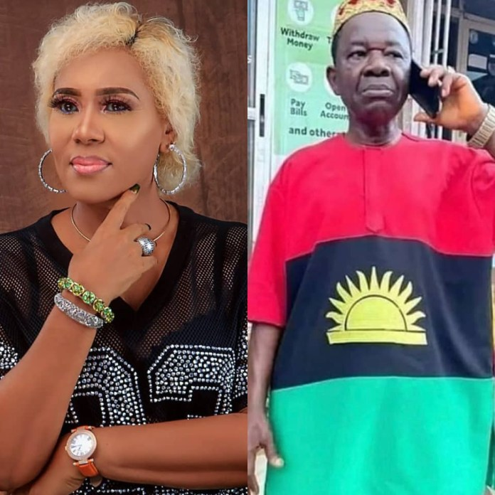 Actress Shan George Reacts After Soldiers Arrested Chinwetalu Agu