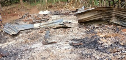African Man Burns His House, Digs His Own Grave, Commits Suicide