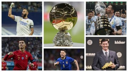 Full Names Of 30 Men Shortlisted For 2021 Ballon d'or