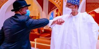President Buhari Receives Willie Obiano In Aso Rock