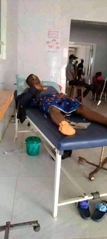 See Photo As Journalist Arrested In Ebonyi Over Incisive Facebook Post Is Hospitalised After Falling Sick In Police Custody