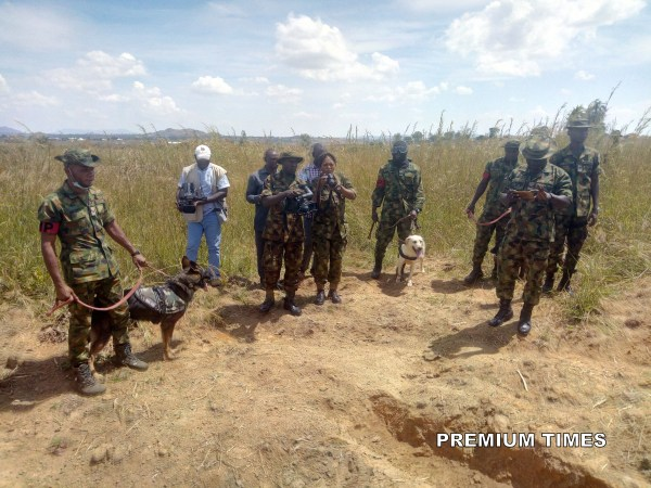 Nigerian Army Discovers Grave Where Missing General Was Buried