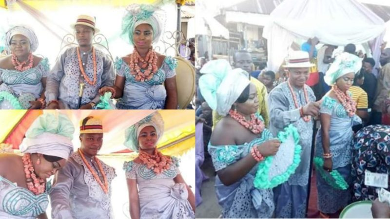 Nigerian Man Marries Two Women On The Same Day As Photos Goes Viral