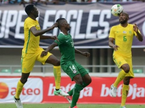 AFCON Qualifiers - South Africa Vs Nigeria