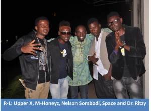 Upper X Ft M-honeyz & Texy - Raba Raba