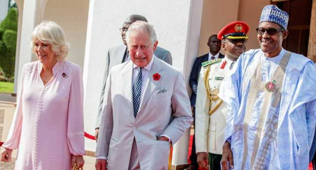 Buhari Welcomes Prince Charles In Abuja