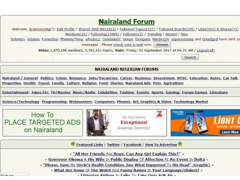 Interesting Facts About Nairaland