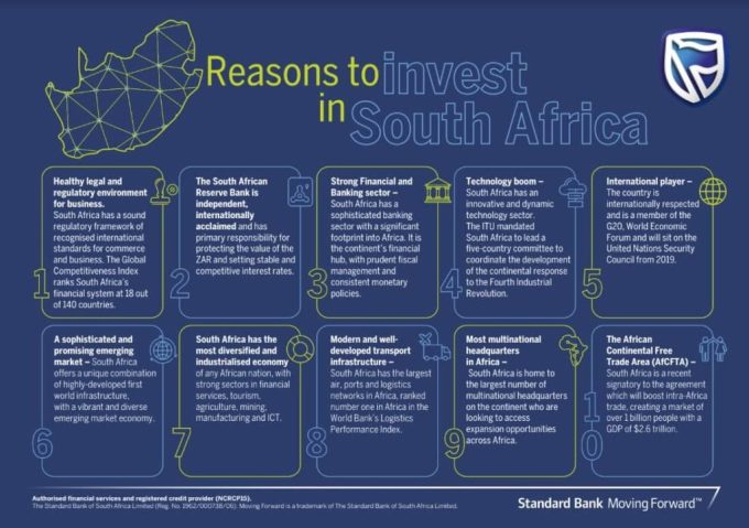 Reasons To Invest In South Africa