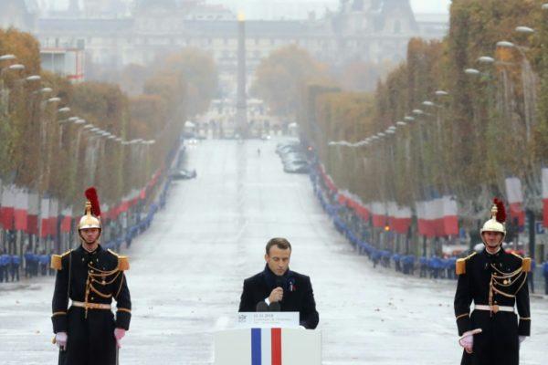 Trump, Putin, Macron, Buhari Mark End Of World War I