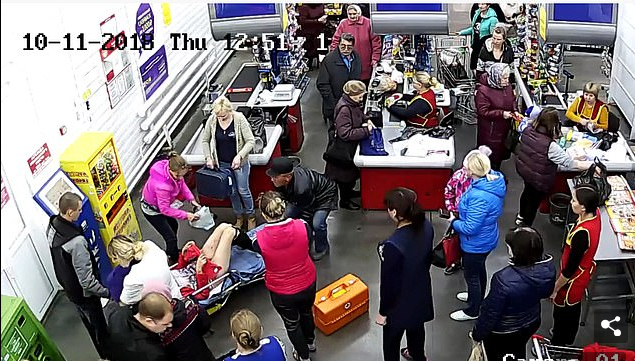 Woman Gives Birth In A Supermarket After Going For Shopping