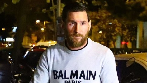 Barcelona Stars, Lionel Messi Turn Out For Christmas Party