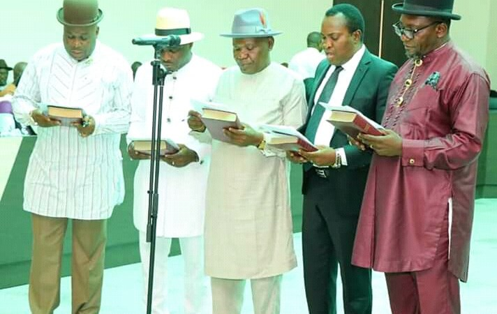 Bayelsa State Swears-in  New Commissioners (See names and Designations)