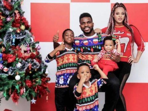 Joseph Yobo, Wife Share Beautiful Christmas Photos