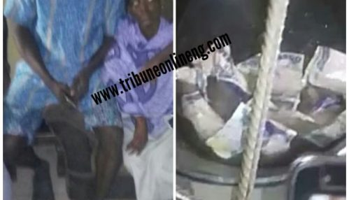 Lady Used By Yahoo Boy For Ritual Vomits Money In Delta State