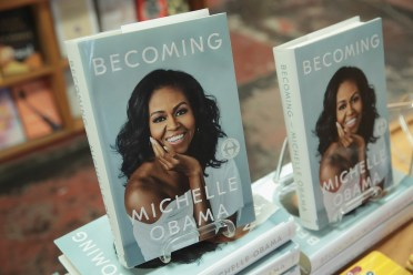 Michelle Obama's Book 'Becoming'