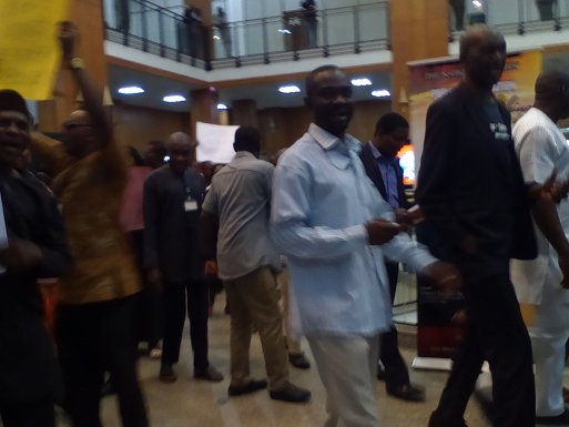 Non Payment Of Allowances - National Assembly Staffs Protest