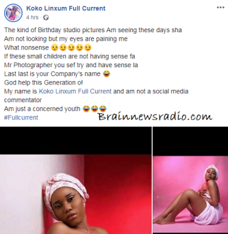 Trending Photos 18-year-old Lady Posted On Facebook For Her Birthday