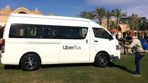 Uber Launched First Bus Service In Egypt