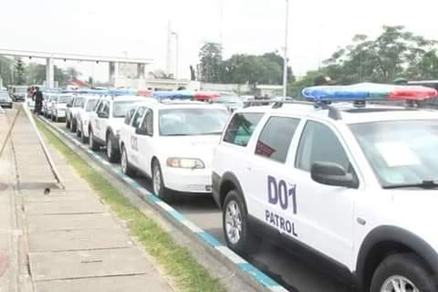 Akwa Ibom State Government Donates 10 New Vehicles To Police