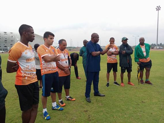 Akwa United Chairman Reads Riot Act To Coaches, Players