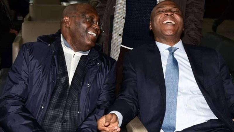 Caption This Photo Of Atiku Abubakar And Bukola Saraki In The United States