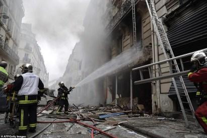 Four Killed, Dozens Injured As Heavy Explosion Rocks Paris Bakery