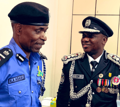 Ibrahim Idris Leaves Office As IGP, Adamu Mohammed Takes Over In Acting Capacity