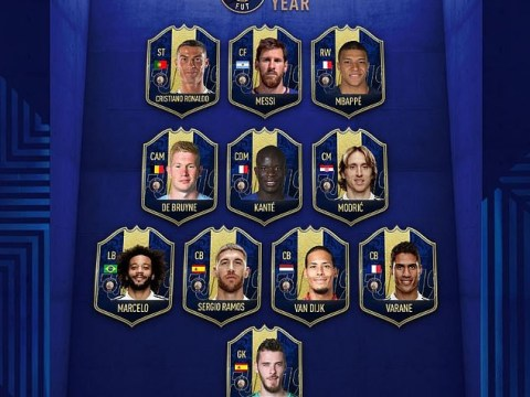 Messi, Ronaldo, Mbappe, Others Named In FIFA 19 Team Of The Year