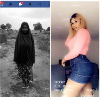 Muslim Lady Shocked Social Media Users With Her #10YearsChallenge Photos