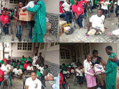 Physically Challenged Empowered By Prince Otu In Cross River