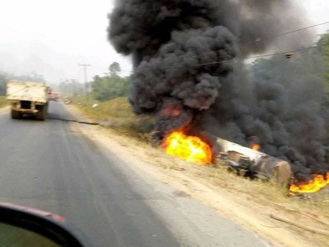 Tanker Explosion Kills, Injures Many In Cross River State