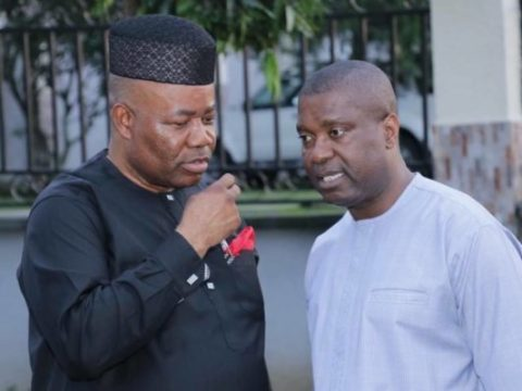 Akpabio, Nsima Ekere Shun Peace Accord With INEC