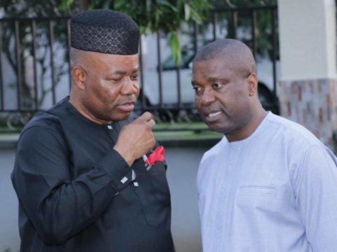 Akpabio, Nsima Ekere Shun Peace Accord With INEC