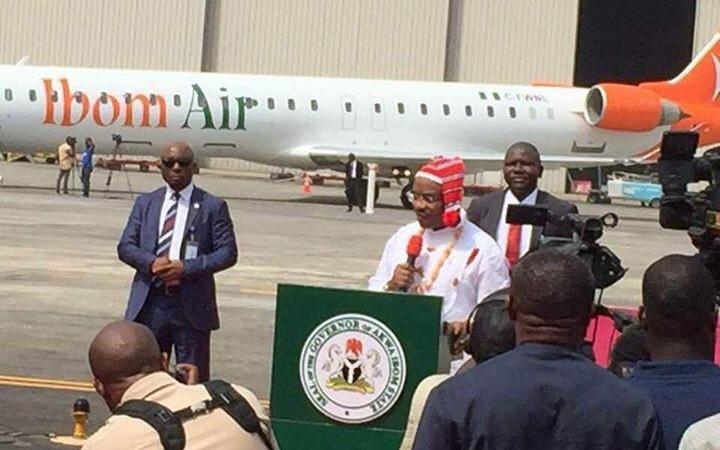 Akwa Ibom Governor, Udom Emmanuel, Senate President Saraki Unveils Ibom Air
