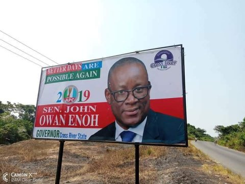 Appeal Court Restores Owan Enoh As APC Governorship Candidate For CRS