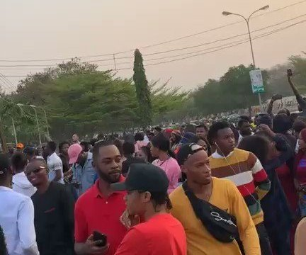 Crowd Storms Abuja Audition For BBNaija 2019