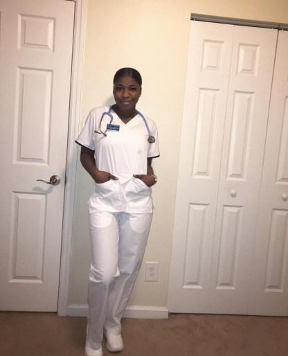 MC Oluomo's Daughter Enrolls Into A Nursing College In The U.S.