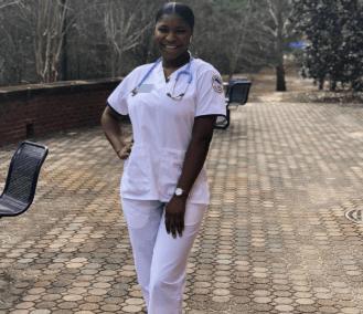 MC Oluomo's Daughter Enrolls Into A Nursing College In The U.S.