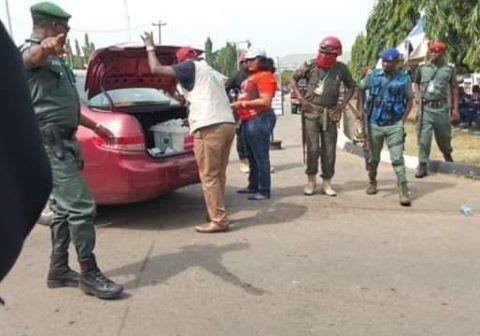 #Nigeriadecides2019 - Woman Allegedly Gets Caught With Over 5,000 PVCs