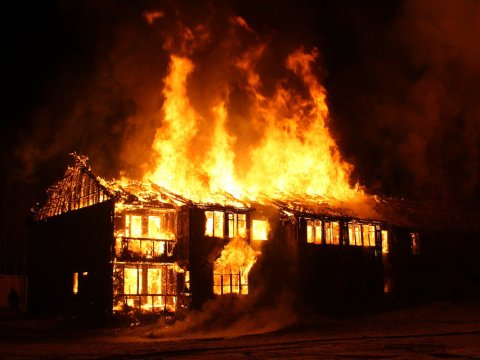 Thugs Set INEC Office Ablaze In Imo