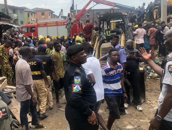 Lagos State Government Begins Demolition Of Marked Buildings