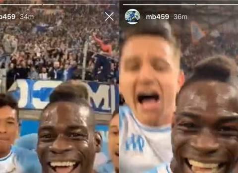 Mario Balotelli Goes Live On Instagram As He Celebrates Goal