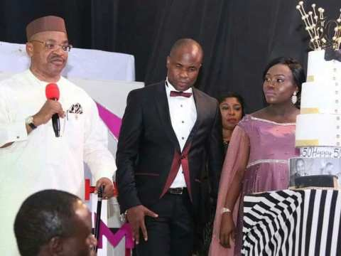 Rev Patrick Edet Clocks 50, As Udom Emmanuel Attend The Occasion